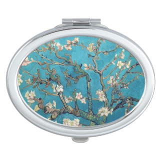 Blossoming Almond Tree by Vincent van Gogh Vanity Mirror