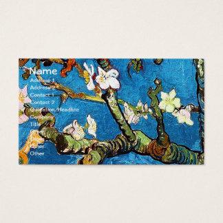 Blossoming Almond Tree Van Gogh Fine Art Business Card