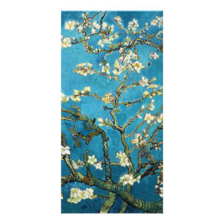 Blossoming Almond Tree, Vincent van Gogh. Customised Photo Card