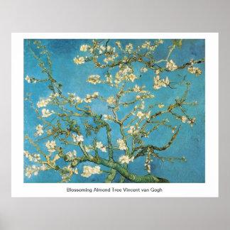 Blossoming Almond Tree  Vincent van Gogh Print