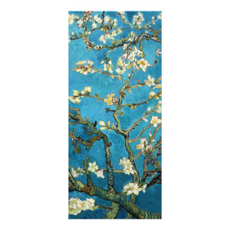 Blossoming Almond Tree, Vincent van Gogh. Customized Rack Card