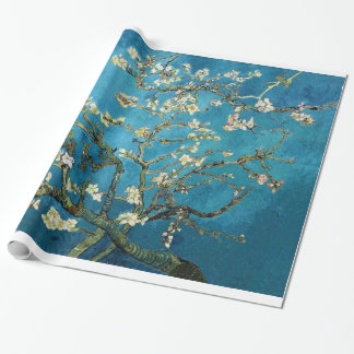 Blossoming Almond Tree, Vincent van Gogh. Wrapping Paper
