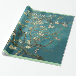 Blossoming Almond Tree, Vincent van Gogh Wrapping Paper