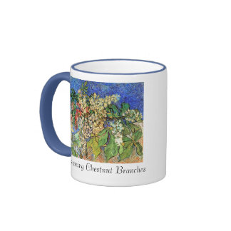 Blossoming Chestnut Branches Mugs