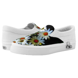 Blossoming darkness shoes printed shoes