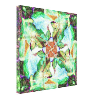 Blossoming Flower Stretched Canvas Prints