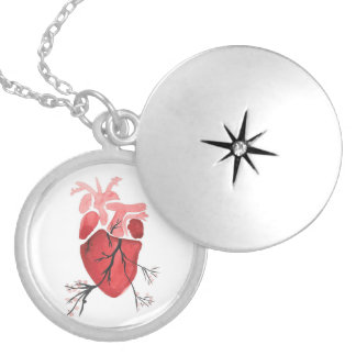 Blossoming Heart Locket