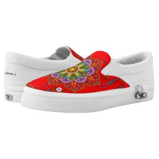 Blossoming Joy ~ Slip On Sneakers