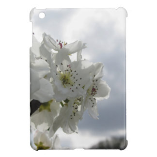 Blossoming pear tree against the cloudy sky case for the iPad mini