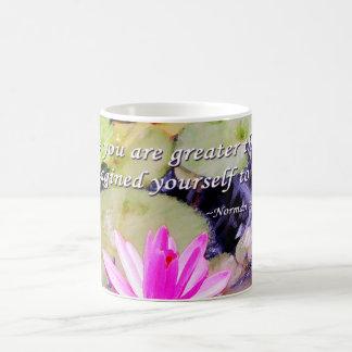 Blossoming Pink Water Lily Coffee Mug
