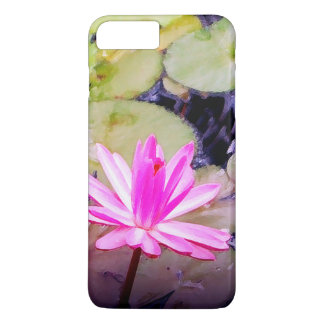 Blossoming Pink Water Lily iPhone 7 Plus Case