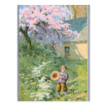 Blossoming Spring Postcard