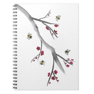 Blossoms and Bees Notebooks