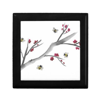 Blossoms and Bees Small Square Gift Box