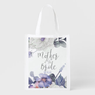 Blossoms and Berries Mother of the Bride ID476 A Reusable Grocery Bag