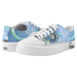 Blossoms and Breeze Low Tops