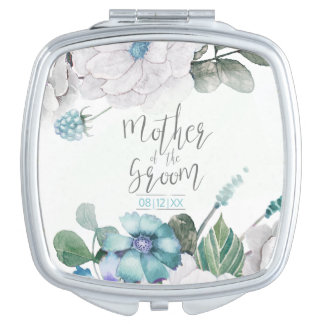 Blossoms & Berries Mother of the Groom ID476 E Vanity Mirrors