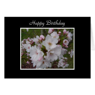 Blossoms in Pink Card