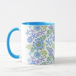 Blossoms of Blue Mug