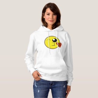 Blow a Kiss Emoji Hoodie