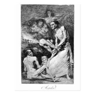 Blow by Francisco Goya Postcard