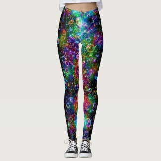 Blow Color Bubbles YOUR NAME Yoga Pants S to XL