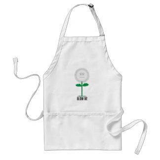 Blow me dandelion standard apron