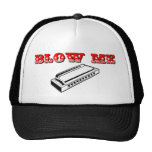 Blow Me = Mouth Organ or Harmonica Hat