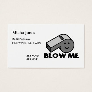 Blow Me Whistle