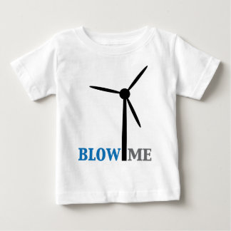blow me wind turbine tee shirt
