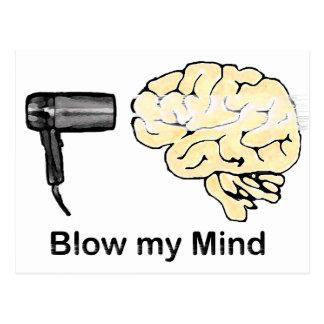Blow my Mind Postcard