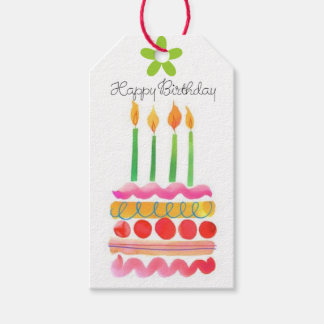 Blow Out the Birthday Candles Gift Tags