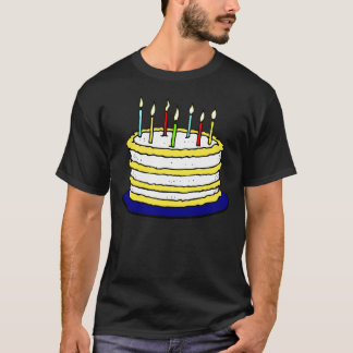 Blow Out the Candles on the Birthday Cake T-Shirt