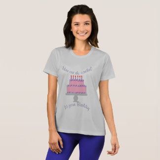 blow out the candles t-shirt