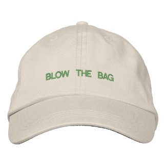 Blow The Bag Hat Baseball Cap