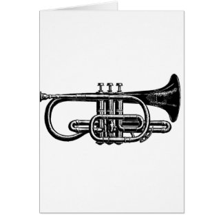 Blow your Horn: Imperial Cornet Musical Instrument Card