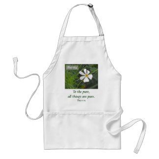 Blowin` in the Wind - Purity Adult Apron