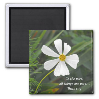 Blowin` in the Wind - Purity Square Magnet