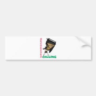 Blowing easy crash _piano bumper sticker