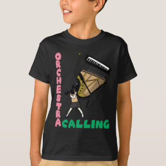 Blowing easy crash _piano T-Shirt