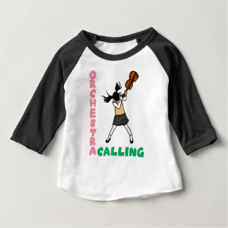 Blowing easy crash _violin baby T-Shirt