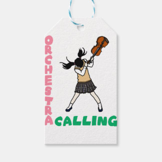 Blowing easy crash _violin gift tags