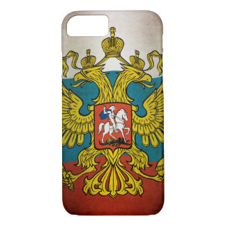 Blowing flag of Russia iPhone 8/7 Case