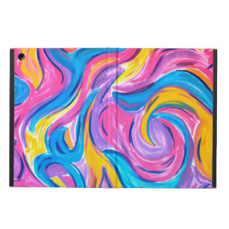 Blowing In The Wind - Abstract Art Handpainted iPad Air Covers