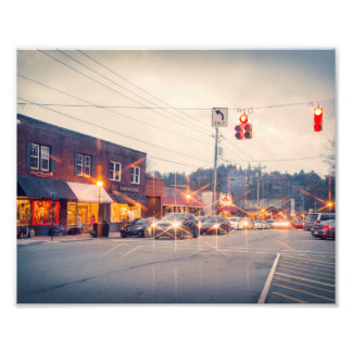 Blowing Rock Evening Light Photo Print