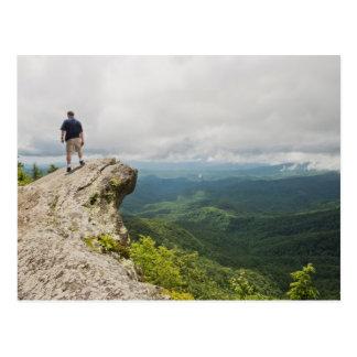 Blowing Rock in North Carolina Postcard