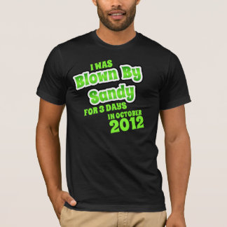 BLOWN BY HURRICANE SANDY T-Shirt