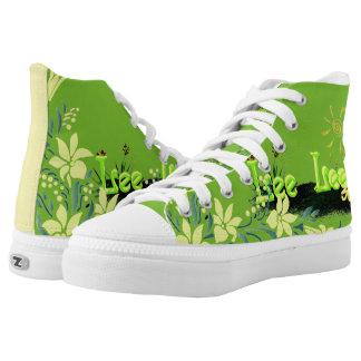 Blox3dnyc.com Grass patch design. Printed Shoes