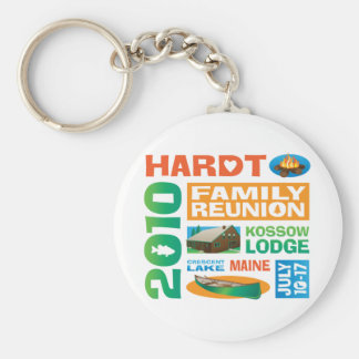 Blox Hardt Family Reunion Basic Round Button Key Ring