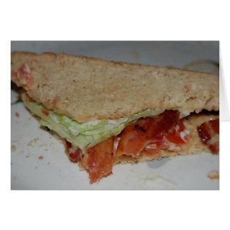 BLT Sandwich Card
